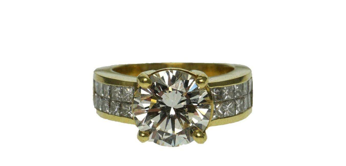 3 Carat Diamond Engagement Ring