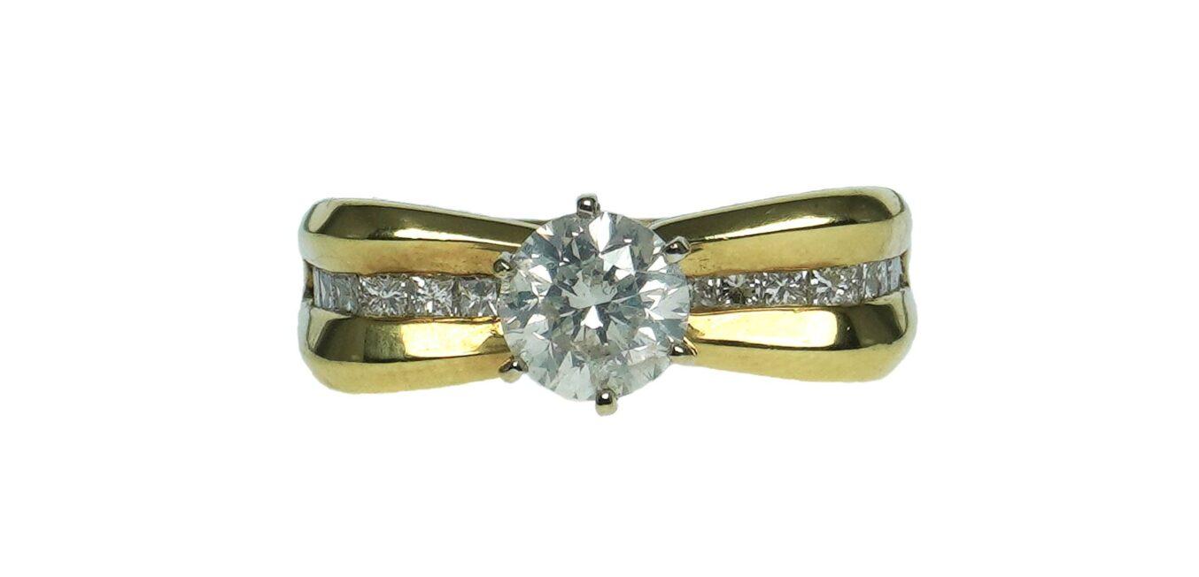 Engagement Style Diamond Ring