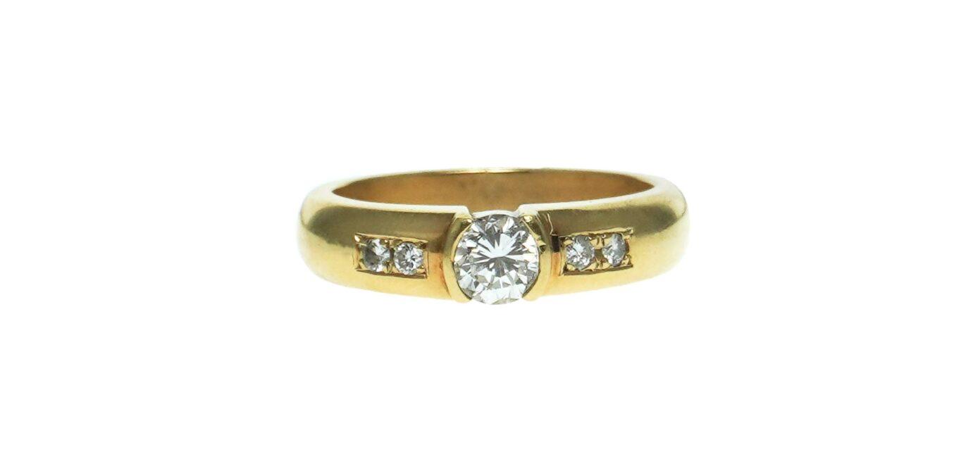 GIA Certified Diamond Ring