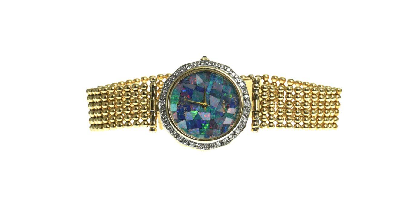 Man's Gold & Diamond Watch