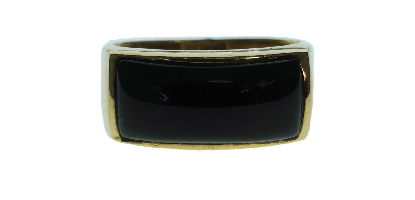 Black Onyx Ladies Ring